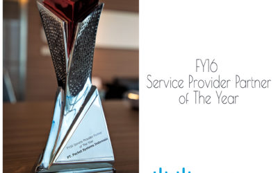 FY16 Service Provider Partner of The Year