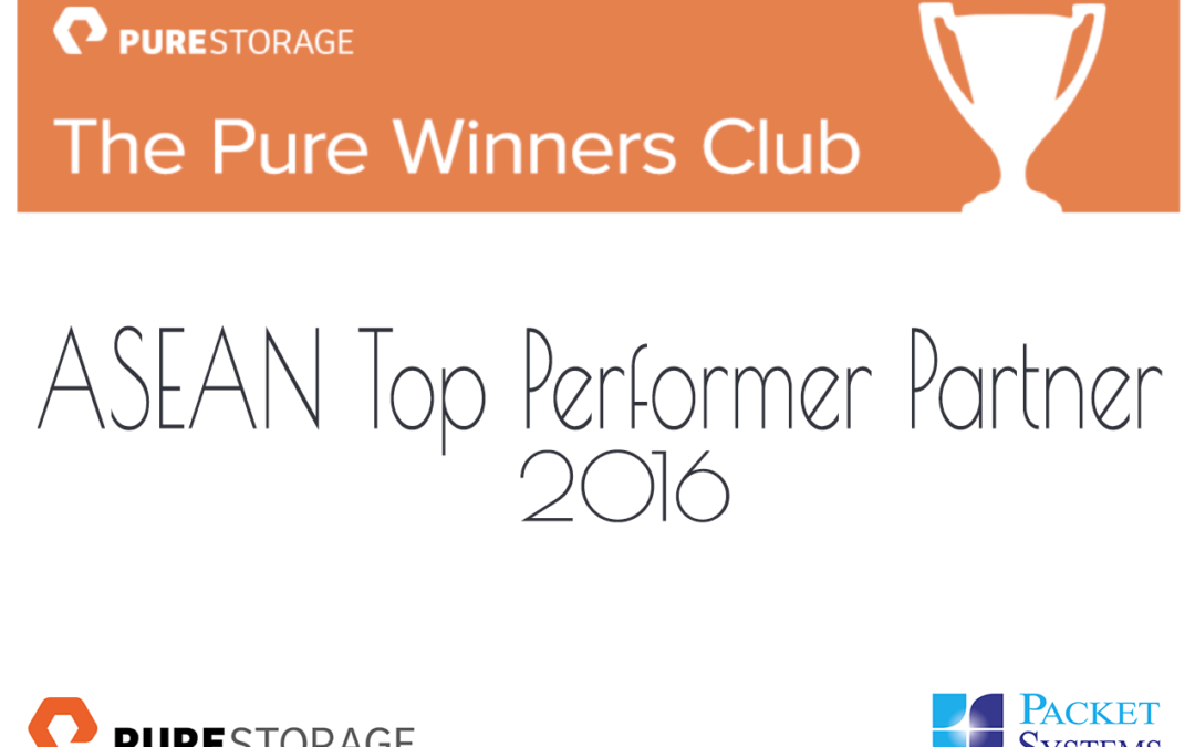 ASEAN Top Performer Partner 2016