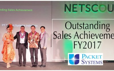 Netscout Outstanding Sales Achievement FY 2017